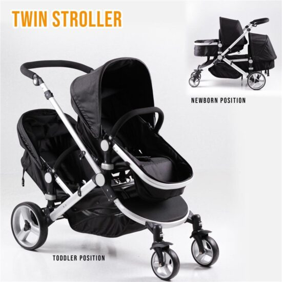 DB-10 Double Pushchair – Enhanced Images (4)