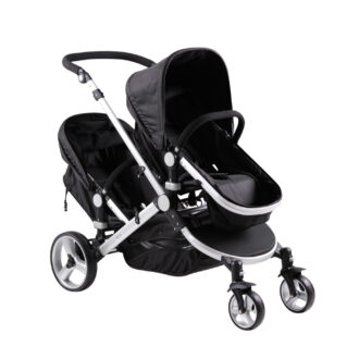 double pushchair, pushchair travel system,