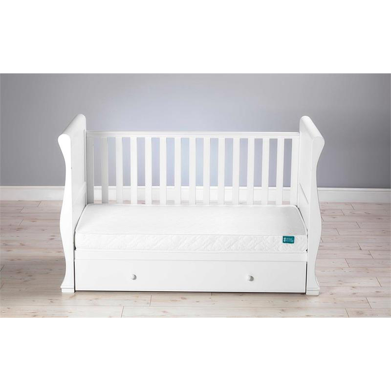 Bed 140 Cm.East Coast Cot Bed Spring Matress 140cm By 70cm