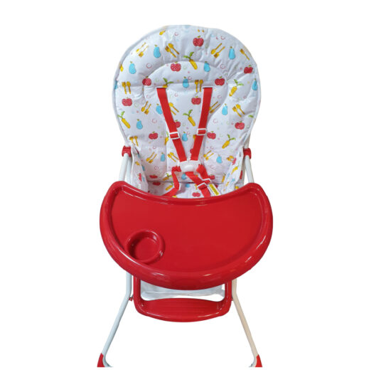 HC-15DS High Chair Red (3)
