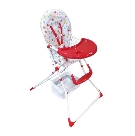 HC-15DS High Chair Red (5)