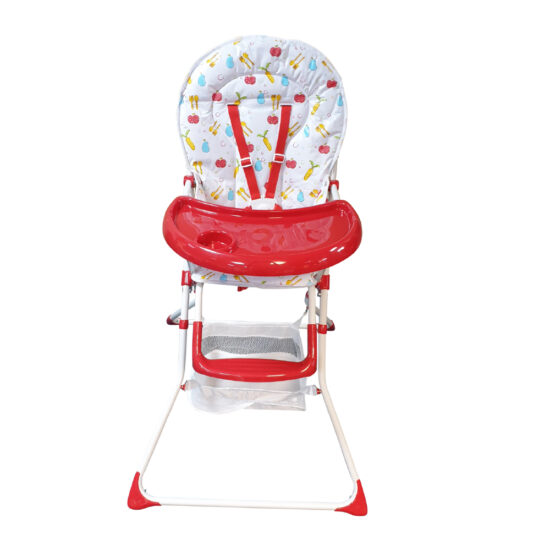 HC-15DS High Chair Red (6)
