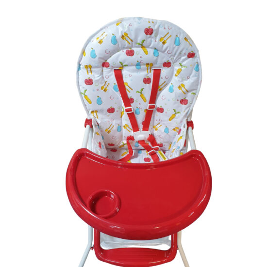 HC-15DS High Chair Red (7)